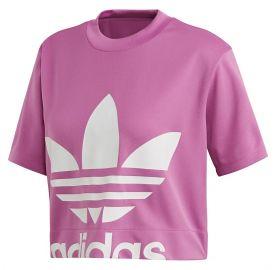 Adidas Γυναικεία κοντομάνικη μπλούζα crop